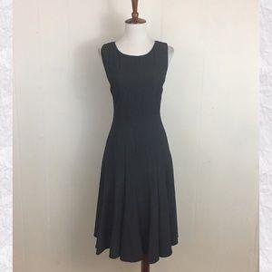 Calvin Klein Crew Neck Seamed Dress